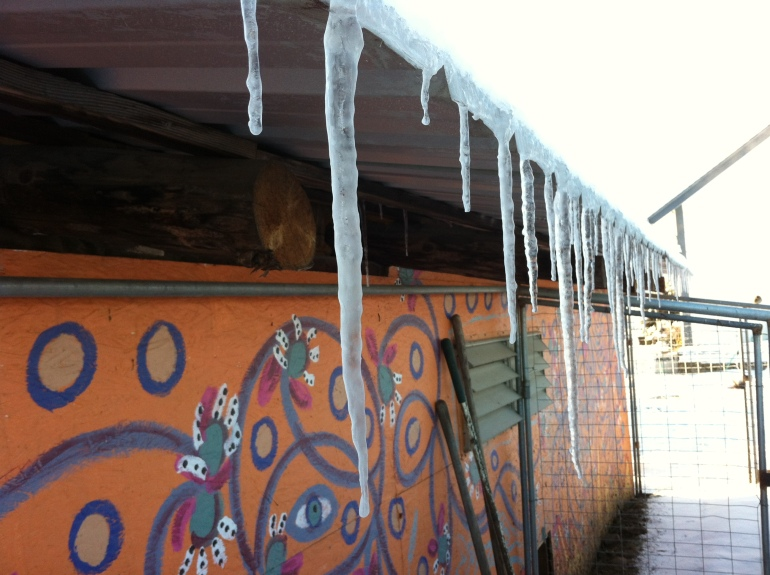 Icicles in the Rabbit area