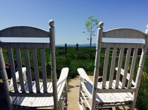 Endless View from Rocking Chairs